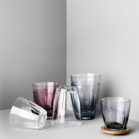 Bruk Tumbler // Large // Set of 8 (Clear)