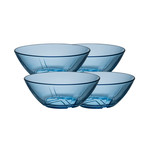 Bruk Bowl // Small // Set of 4 (Clear)