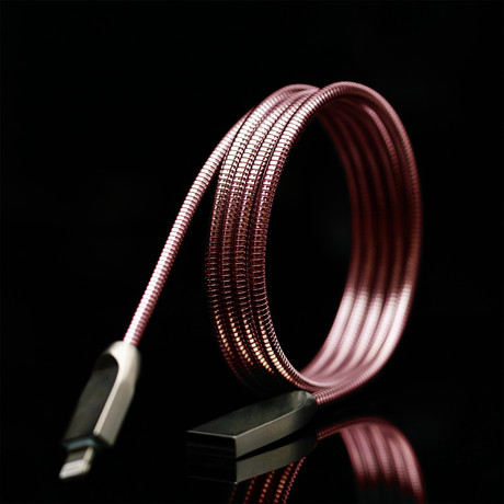 THOR Charging Cable // Rose Gold (Apple Lightning)