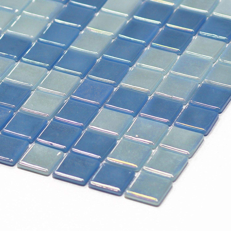 Opus One // Photoluminescent Tiles // Set of 10 (Ocean Blue Matte ...