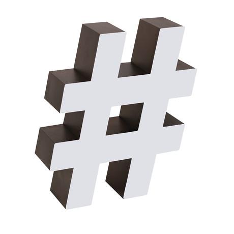 Hashtag (Regular)