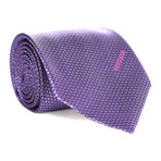 Honeycomb Tie // Purple + Violet