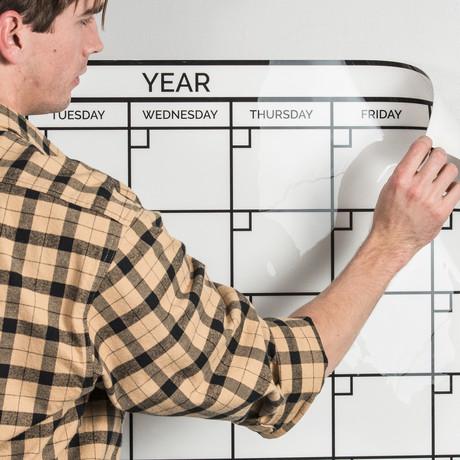 Writeyboard Monthly Calendar // Restickable