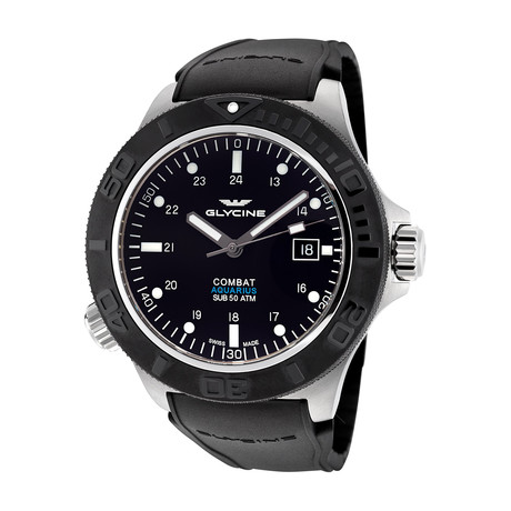 Glycine Combat Sub Aquarius Automatic // 3946.199.D9