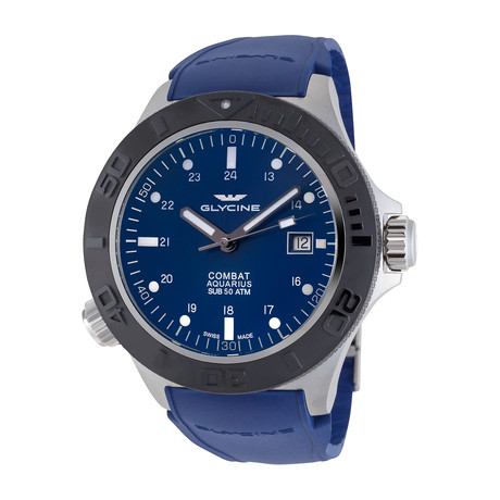 Glycine Combat Sub Aquarius Automatic // 3946.119.D9-38