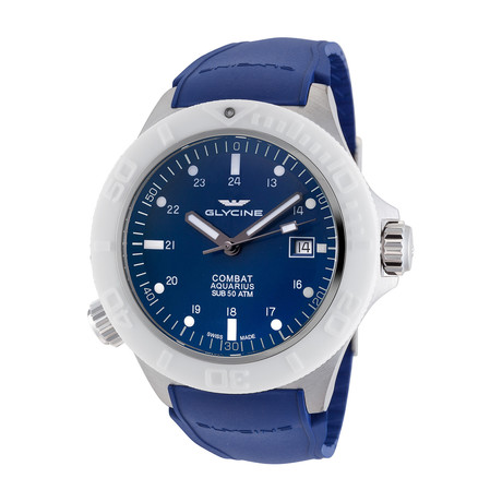 Glycine Combat Sub Aquarius Automatic // 3946.119.D9-41