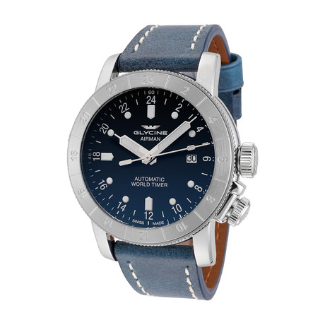 Glycine Airman Automatic // 3947.181-66.LB8B