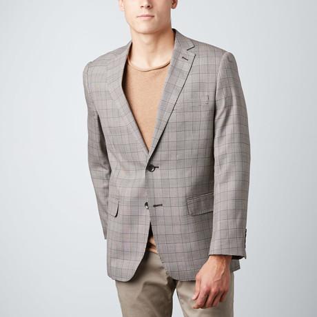Plaid Sport Jacket // Grey