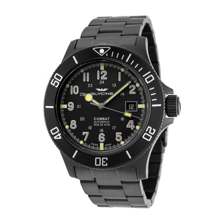 Glycine Combat Sub Automatic // 3908.959AT.N1.MB9