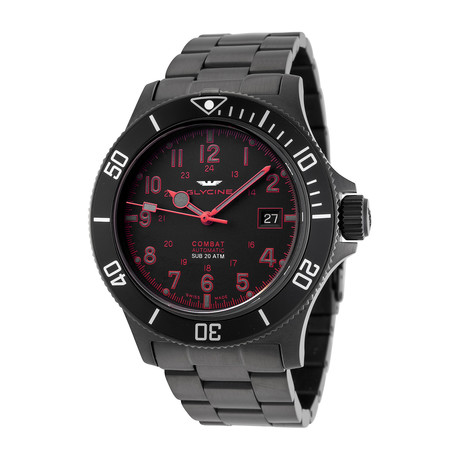Glycine Combat Sub Automatic // 3908.969AT.N1.MB9