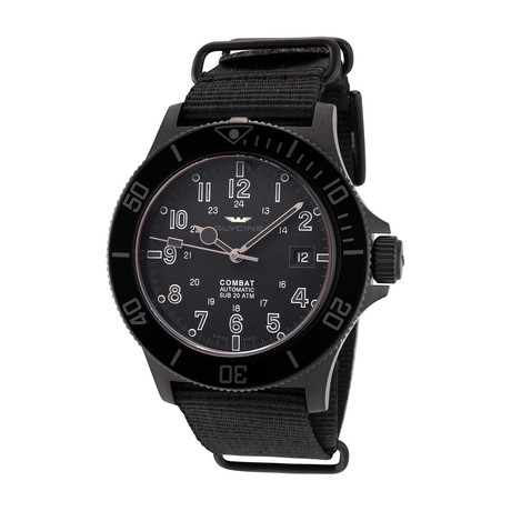 Glycine Combat Sub Automatic // 3908.999AT.N8.TB99