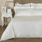Single Ajour // Ivory (King Duvet Cover)