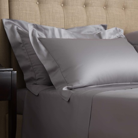 Single Ajour // Slate Grey (Queen Sheet Set)