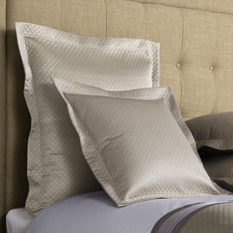 Hotel Melody // Light Grey (Euro Sham)