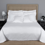 Hotel Melody // White (Queen Bedspread)