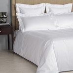 Cruise // White + White (King Duvet Cover)