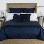 Hotel Melody // Navy (King Bedspread)