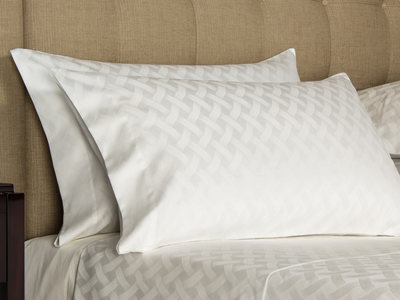 Frette Luxurious Heritage Bedding Riviera // Ivory (Euro Sham // Quilted) by Touch Of Modern - Anniversary Gifts for Him