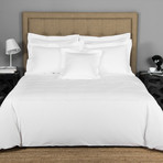 Hotel Classic // White + White (Queen Sheet Set)