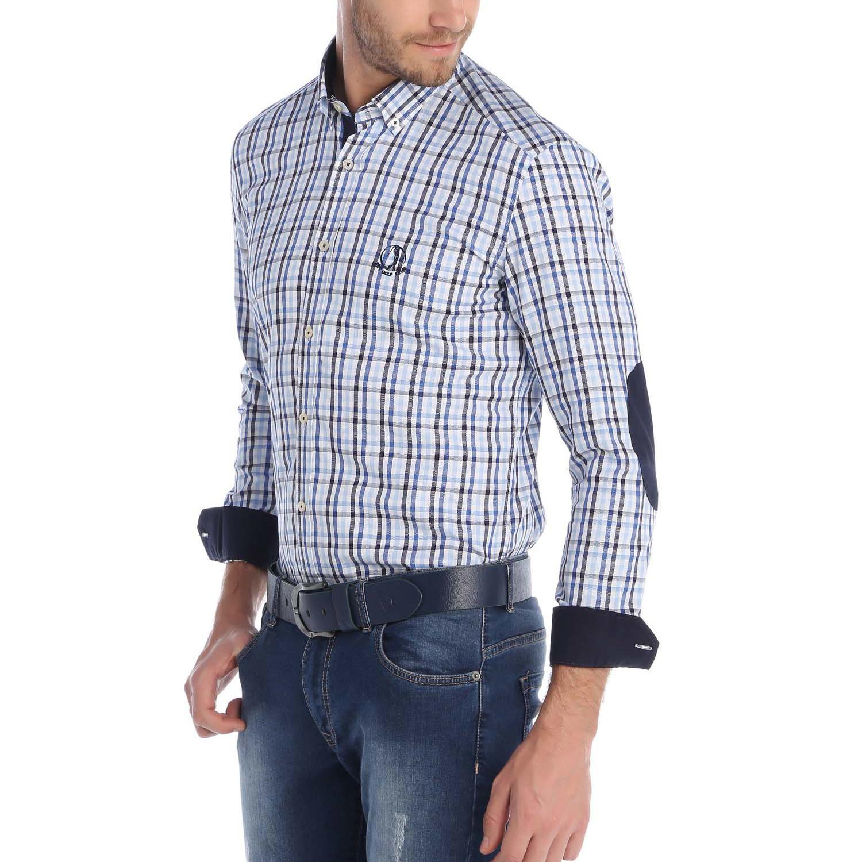 Mulligan Button Up Shirt Blue Navy 3xl Sir