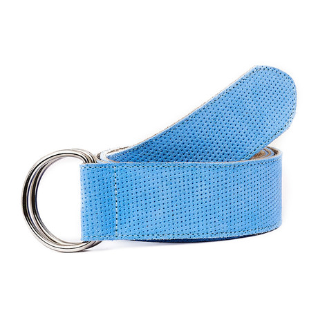Calapoia Belt // Blue + Beige