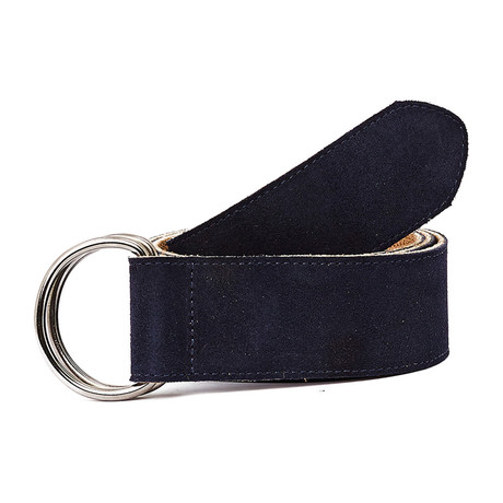 Calapoia Belt // Navy + Tobacco
