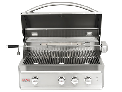 "Blaze Grills Ultimate, Modular BBQ Gear 3-Burner Professional 34"" Grill (Propane Gas) by Touch Of Modern - Denver Outlet"