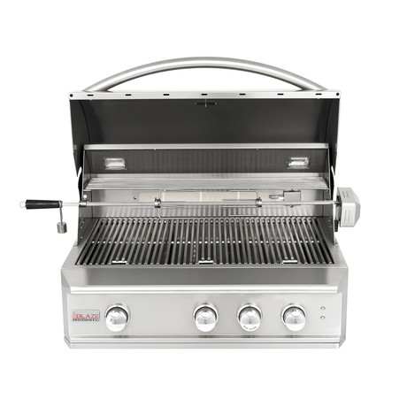 "3-Burner Professional 34"" Grill (Propane Gas)"