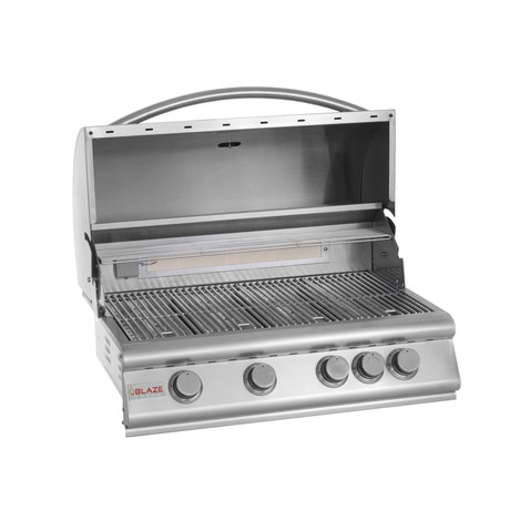 "4-Burner 32"" Grill (Natural Gas)"
