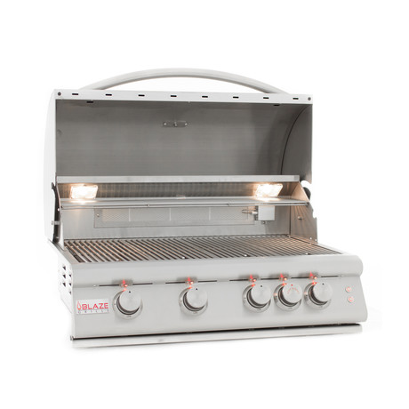 4-Burner Grill + Lights (Natural Gas)