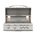 4-Burner Grill + Lights (Propane Gas)