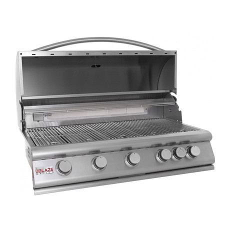 "5-Burner 40"" Grill (Natural Gas)"