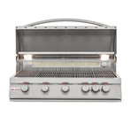 5-Burner Grill + Lights (Propane Gas)