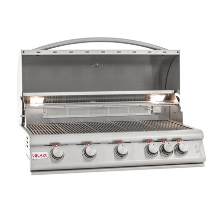 5-Burner Grill + Lights (Natural Gas)