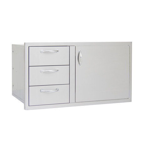 Access Door + Drawer Combo (Double Drawer)