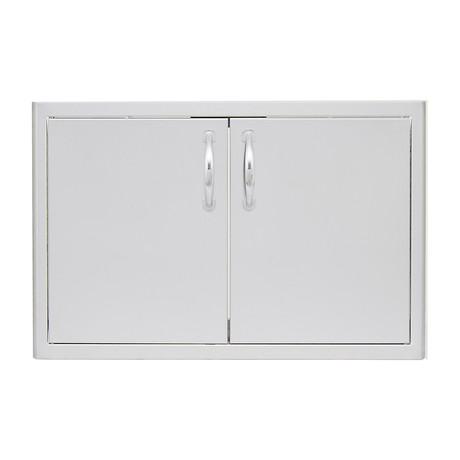 """Double Access Door + Paper Towel Dispenser (32"""")"""