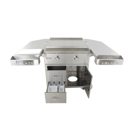 GRILL CART SHELVING KIT FOR GAS GRIDDLE