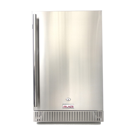 Outdoor Rated Stainless Steel Compact Refrigerator