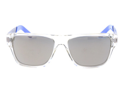 Photo of Designer Eyewear Luxe Shades & Optical Carrera // 5014 Sunglasses // Clear + Gray + Blue by Touch Of Modern