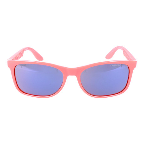 Rounded Rectangular Thick Rim Wayfarer // Hot Coral