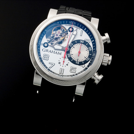 Graham Silverstone Tourbillon Automatic // Limited Edition // 2TWTS.S03A // Unworn