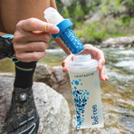 BeFree Microfilter Hydrapak // 0.6L Flask