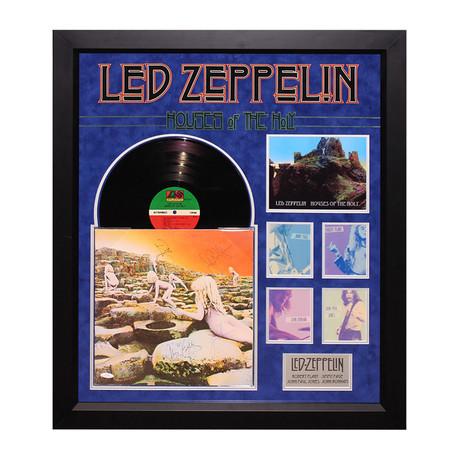 Led Zeppelin Signed Album // House of the Holy