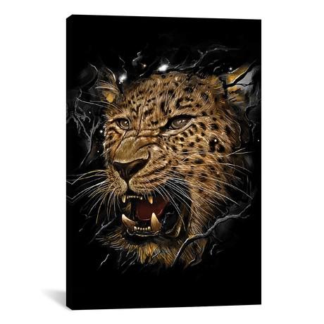 """Leopard (18""""W x 26""""H x 0.75""""D)"""