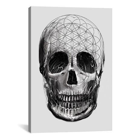 """Sacred Skull (18""""W x 26""""H x 0.75""""D)"""