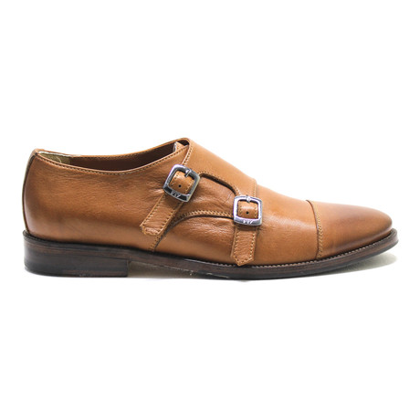 Captoe Double Monk // Cognac (Euro: 42)