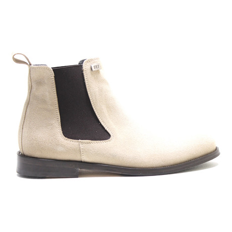 Suede Chelsea Boot // Tan