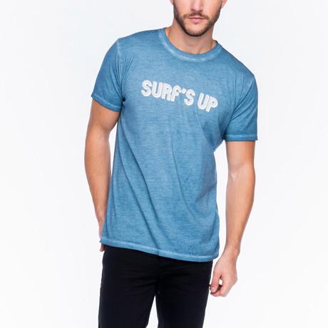 Surf's Up T-Shirt // Medium Indigo