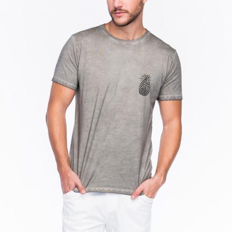Pineapple T-Shirt // Faded Grey