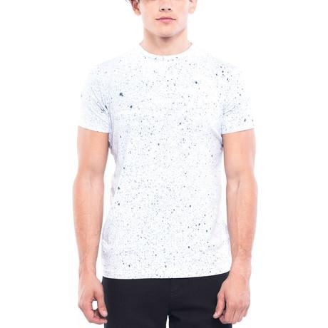 Splatter T-Shirt // White